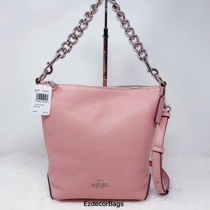 NWT COACH Mini Abby Duffle Satchel Crossbody Bag